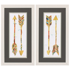 Propac Beautiful Arrows Wall Art Set of 2