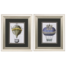 Propac Fantasy Balloon II Wall Art Set of 2