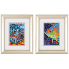 Propac Tropical Fish Wall Art Set of 2