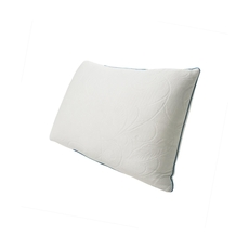 Protect-A-Bed Naturals Crystal Queen Size Hybrid Memory Foam Soft Pillow