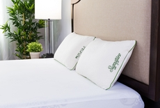 Protect-A-Bed Naturals Signature 18 oz. Memory Foam Medium Bed Pillow