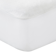 Protect-A-Bed Originals Plush Twin XL Soft Velour Mattress Protector
