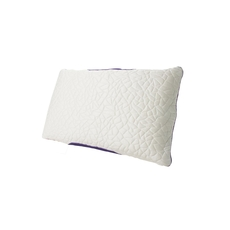 Protect-A-Bed Therm-A-Sleep Snow Queen Size Classic Medium Pillow