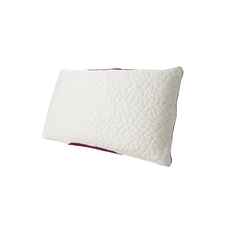 Protect-A-Bed Therm-A-Sleep Snow Queen Size Hybrid Memory Foam Medium Pillow