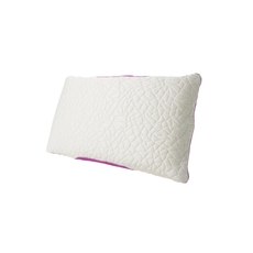 Protect-A-Bed Therm-A-Sleep Snow Queen Size Memory Foam Firm Pillow