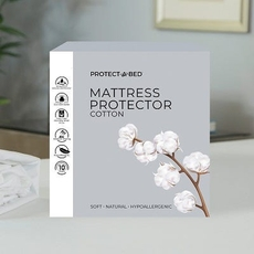 Protect-A-Bed Naturals Cotton Queen Mattress Protector