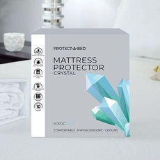 Protect-A-Bed Naturals Crystal Queen Waterproof Mattress Protector