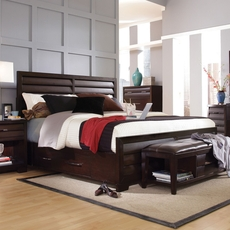 Pulaski Sable Cal King Storage Bed