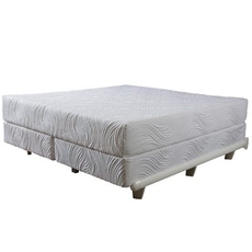 King Pure Talalay Bliss Nature Plush 10 Inch Mattress