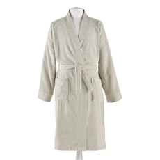 Peacock Alley Bamboo Large/Extra Large Bath Robe in Linen