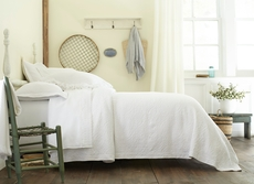 Peacock Alley Charlotte Matelasse Queen Coverlet