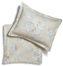 Peacock Alley Flora Printed King Sham