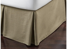 Peacock Alley Mandalay Linen Tailored Queen Bed Skirt