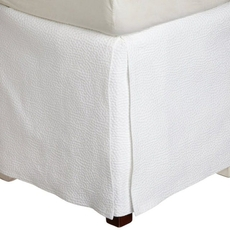 Peacock Alley Montauk Matelasse King Bed Skirt