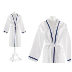 Peacock Alley Pique Small-Medium Bath Robe