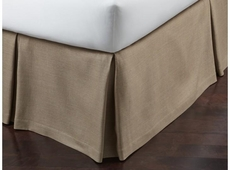 Peacock Alley Rio Linen King Bedskirt
