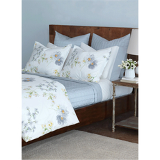 RB Casa Grace White Twin Fitted Sheet