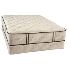 Full Restonic All Natural Zero Foam 14 Inch Mattress with Micro-Coil Technology