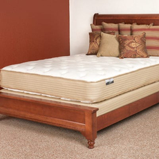 Twin XL Restonic Comfort Care Brookhaven Plush Double Sided Mattress