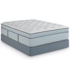 Full Restonic Scott Living Ambiance Euro Top 16 Inch Mattress