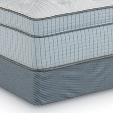 Restonic Scott Living Ambiance Euro Top 16 Inch King Mattress Only SDMB012037 - Scratch and Dent Model ''As-Is''