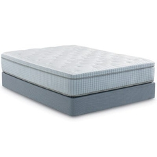 Cal King Restonic Scott Living Mirage Euro Top 12 Inch Mattress