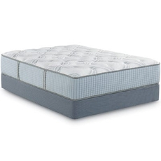 Queen Restonic Scott Living Panorama Plush 14 Inch Mattress