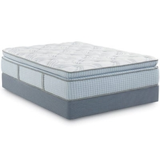 Queen Restonic Scott Living Panorama Super Pillow Top 14.5 Inch Mattress