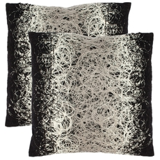 Safavieh Bennett 18 Inch Onyx Decorative Pillows Set of 2