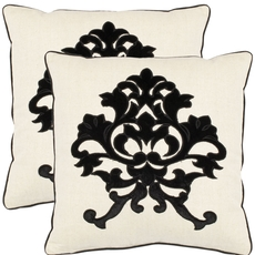 Safavieh Greyson 18 Inch Onyx Decorative Pillows Set of 2