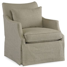 Sam Moore Azriel Skirted Swivel Glider Chair