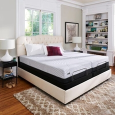 Queen Sealy Posturepedic Conform Performance High Spirits Firm 10.5 Inch Mattress + FREE $200 Visa Gift Card