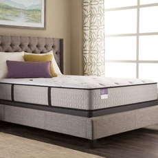 Queen Sealy Crown Jewel Performance Inspirational Night Firm 14.5 Inch Mattress