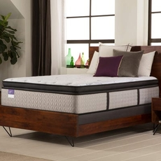 King Sealy Crown Jewel Premium Inspirational Honor Plush Euro Pillow Top 15 Inch Mattress