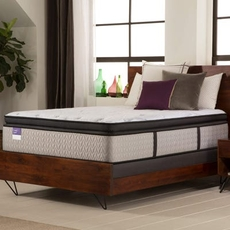 Twin Sealy Crown Jewel Premium Inspirational Sleep Plush Euro Pillow Top 16.5 Inch Mattress