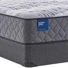 Full Sealy Crown Jewel Value Black Opal Cushion Firm 12.5 Inch Mattress