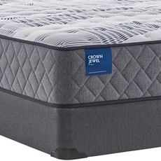Full Sealy Crown Jewel Value Black Opal Plush 12.5 Inch Mattress