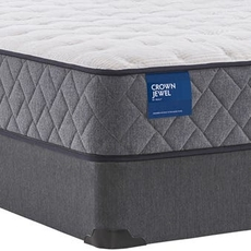 Full Sealy Crown Jewel Value Inca Rose Firm 10 Inch Mattress