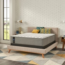 Full Sealy Posturepedic Cooper Mountain V Medium Euro Top 14 Inch Mattress