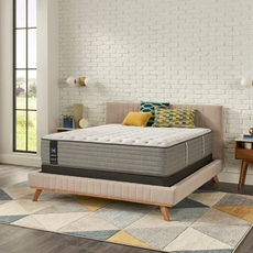 Queen Sealy Posturepedic Cooper Mountain V Soft Euro Top 14 Inch Mattress