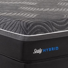 Sealy Posturepedic Hybrid Premium Silver Chill Plush 14 Inch Queen Mattress Only SDMB072021 - Scratch and Dent Model ''As-Is''