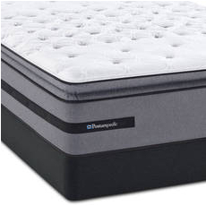 King Sealy Posturepedic Select Bellesguard Ultra Plush Euro Pillow Top Mattress