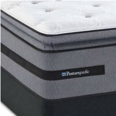 Queen Sealy Posturepedic Select Yonge Street Firm Euro Pillow Top Mattress