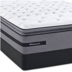 King Sealy Posturepedic Select Yonge Street Plush Euro Pillow Top Mattress