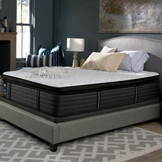 Cal King Sealy Posturepedic Response Premium Barrett Court IV Cushion Firm Pillow Top Mattress