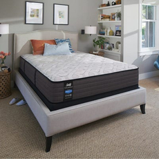 Cal King Sealy Posturepedic Response Performance Cooper Mountain IV Cushion Firm Mattress with Reflexion 4 Adjustable Power Base Foundation