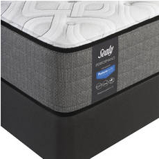 Queen Sealy Posturepedic Response Performance Cooper Mountain IV Firm Mattress with Reflexion 4 Adjustable Power Base Foundation