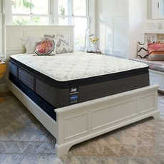 Sealy Posturepedic Response Performance Cooper Mountain IV Plush Pillow Top Cal King Mattress Only SDMB121804- Scratch and Dent Model ''As-Is''
