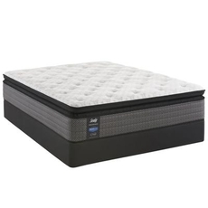 Queen Sealy Posturepedic Response Performance Mountain Ridge IV Cushion Firm Pillow Top 13.5 Inch Mattress
