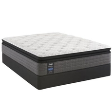 Queen Sealy Posturepedic Response Performance Mountain Ridge IV Plush Pillow Top Mattress